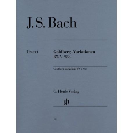 BACH JS VARIATIONS GOLDBERG BWV 988