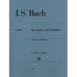 BACH JS INVENTIONS 2/3 VX BWV 772-801 HN