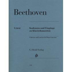 BEETHOVEN CADENCES ET ENTREES