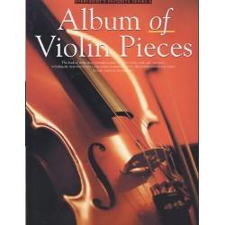 Album of Violon Pieces violon et piano