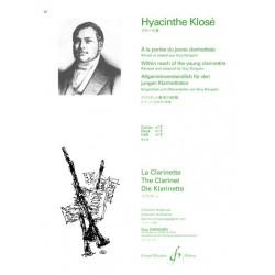 Hyacinthe Klosé A la Portée du jeune Clarinettiste Vol. 2