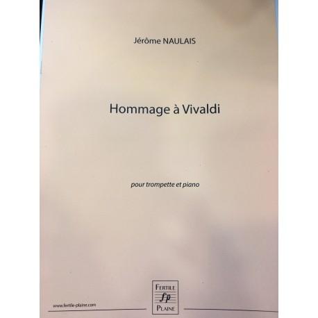 Jérôme Naulais Hommage à Vivaldi trompette et piano