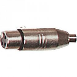 AD 20 Connecteurs & Accessoires - RCA FEMELLE / XLR FEMELLE X 2