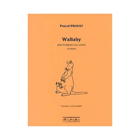 Pascal Proust Wallaby trompette et piano