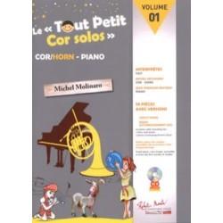 Le Tout Petit Cor Solos - Volume 1 AVEC CD.