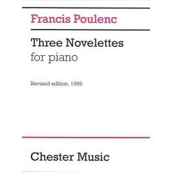 POULENC 3 Novelettes piano