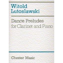 LUTOSLAWSKI Dance Preludes clarinette et piano