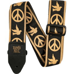 SANGLE ERNIE BALL PEACE LOVE DOVE