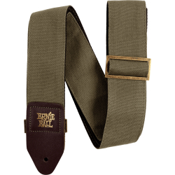 SANGLE ERNIE BALL OLIVE CANVAS