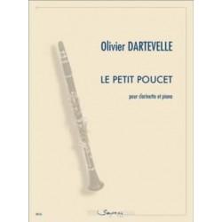 Olivier Dartevelle Le Petit Poucet Clarinette et piano