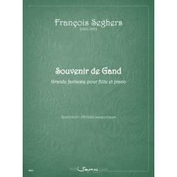 François Seghers Souvenir de Gand flute et piano