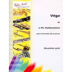 Jean-Philippe Vanbeselaere Vega - Clarinette et Piano