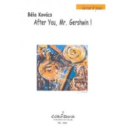 Bela Kovacs After You, Mr Gershwin clarinette et piano