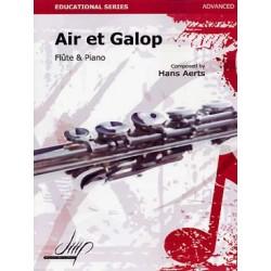 HANS AERTS : AIR ET GALOP
