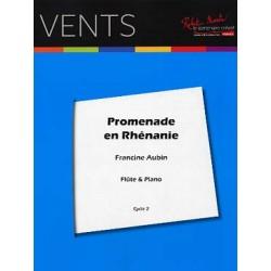 FRANCINE AUBIN : PROMENADE EN RHENANIE