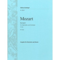 MOZART Konzert A-Dur KV 622 - Klarinette Klavier