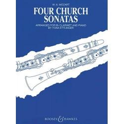 MOZART Four church sonatas