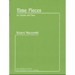 Robert Muczynski Time Pieces - Clarinette et Piano