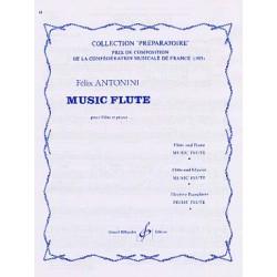 ANTONINI FELIX : MUSIC FLUTE