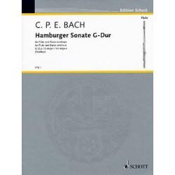 C.P.E BACH : HAMBURGER SONATE