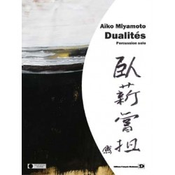 MIYAMOTO Aïko Dualités pour percussion solo
