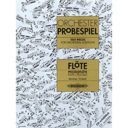 ORCHESTER PROBESPIEL : traits d'orchestre pour flûte traversière