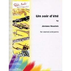 NAULAIS Jérôme Un Soir d'été clarinette et piano