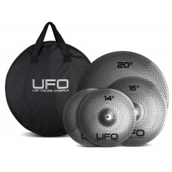 UFO SET CYMBALES LOW VOLUME 14,16,20