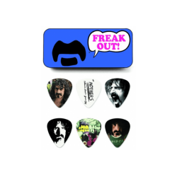 DUNLOP MEDIATORS Frank Zappa - Boîte de 6, Médium