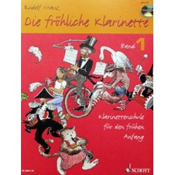 Die FRÖHLICHE KLARINETTE VOL1 CLARINETTE ET CD