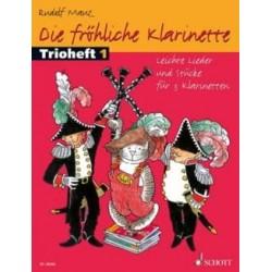 Die FRÖHLICHE KLARINETTE TRIOEFT 3 CLARINETTES