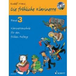 Die FRÖHLICHE KLARINETTE VOL3 CLARINETTE ET CD
