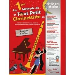 La 1re MÉTHODE DU TOUT PETIT CLARINETTISTE