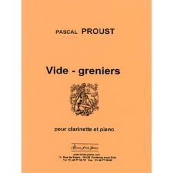 PROUST VIDE GRENIERS CLARINETTE ET PIANO