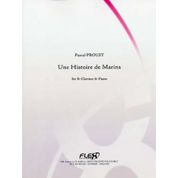 PROUST UNE HISTOITRE DE MARINS CLARINETTE ET PIANO