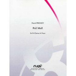 PROUST PALL MALL CLARINETTE ET PIANO