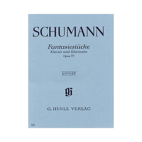 schumann fantaisiestucke op73 clarinette et piano