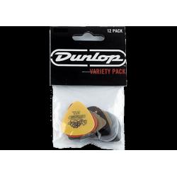 Dunlop 107 Variety Pack Player's de 12 médiators heavy