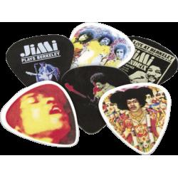 Dunlop Jimi Hendrix Boîte de 12 Experienced medium