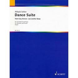 SEIBER DANCE SUITE CLARINETTE ET PIANO