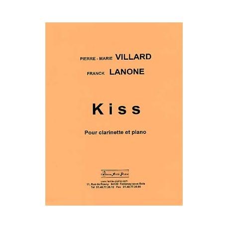 VILLARD LANONE KISS CLARINETTE ET PIANO