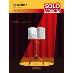 CURNOW CONCERTINO TUBA ET PIANO