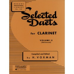 SELECTED DUETS FOR CLARINET VOL2