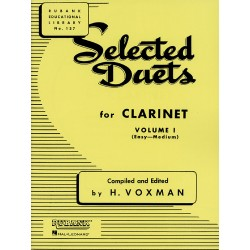 SELECTED DUETS FOR CLARINET VOL1
