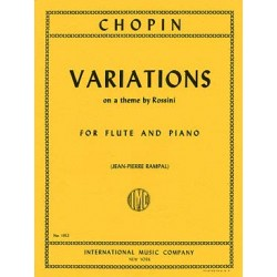 CHOPIN : VARIATIONS ON A THEME BY ROSSINI
