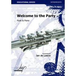 DE LEEUW JAN : WELCOME TO THE PARTY