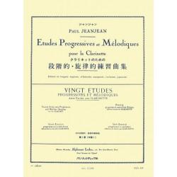 Paul Jeanjean 20 Etudes Progressives Volume 1