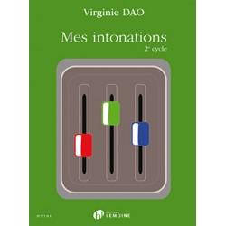 DAO VIRGINIE MES INTONATIONS 2E CYCLE