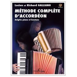 RICHARD GALLIANO METHODE COMPLETE ACCORDEON
