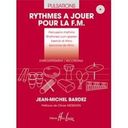 BARDEZ J.M RYTHMES A JOUER POUR LA FM PULSATIONS